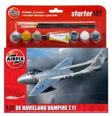 Set Costruzione Medium, De Havilland Vampire T11