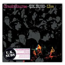 Crash Course. Live (Clear and Grey Coloured Vinyl) - Vinile 10'' di UK Subs