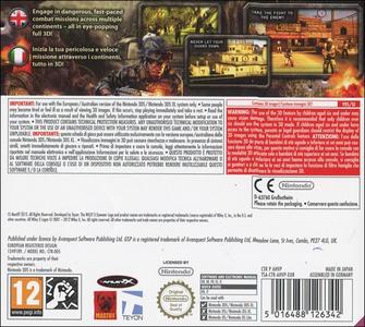 Videogioco Heavy Fire: Chosen Few Nintendo 3DS 1
