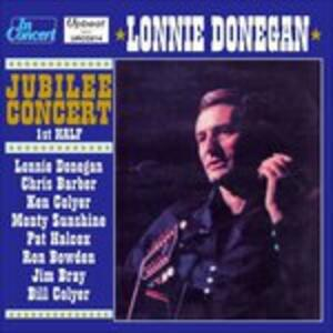 Jubilee Concert - CD Audio di Lonnie Donegan