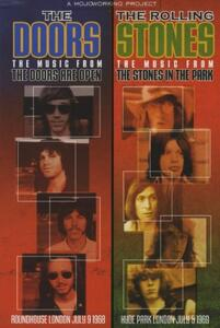 The Doors. The Rolling Stones. The Doors Are Open. Stones in the Park (DVD) - DVD