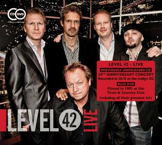 Live - CD Audio + DVD di Level 42