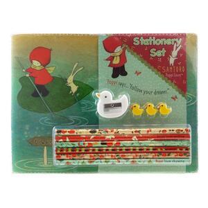 Set cartoleria Stationery  Set Poppi Loves. Discipline. Ninfea - 5