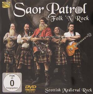 Saor Patrol. Folk 'n' rock. Scottish Medieval Rock - DVD