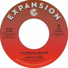 You Made Me A Believer / Starting Over - Vinile 7'' di Lamont Dozier