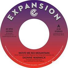 Move Me No Mountain - Dionne Warwick - Vinile 7'' di Dionne Warwick