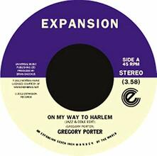 On My Way To Harlem - Vinile 7'' di Gregory Porter