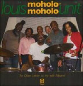 CD An Open Letter to My Wife Mpumi Louis Moholo