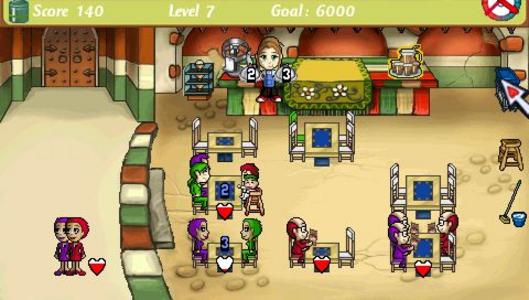 Videogioco Diner Dash Sony PSP 1