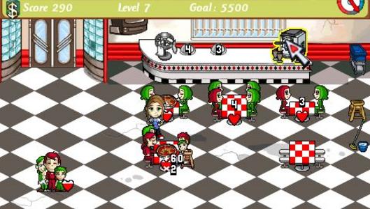 Videogioco Diner Dash Sony PSP 3