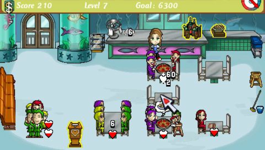 Videogioco Diner Dash Sony PSP 4