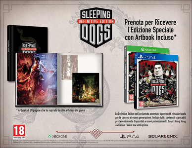 Videogioco Sleeping Dogs Definitive Edition Personal Computer 3