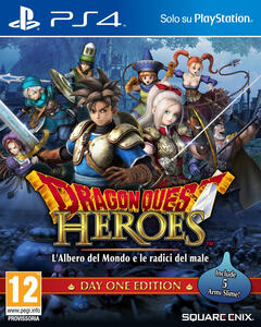 Dragon Quest Heroes. L'Albero del Mondo e Le Radici del Male