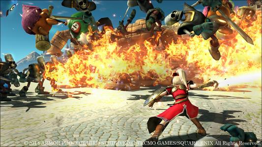 Videogioco Dragon Quest Heroes: L'Albero del Mondo e Le Radici del Male PlayStation4 3