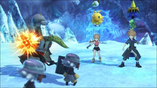 Videogioco World of Final Fantasy - PS4 PlayStation4 2