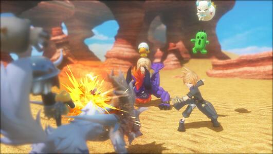 World of Final Fantasy - PS4 - 4