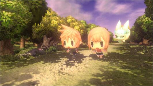 Videogioco World of Final Fantasy - PS4 PlayStation4 5