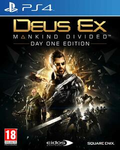 Deus Ex: Mankind Divided Day One Edition - PS4 - 2