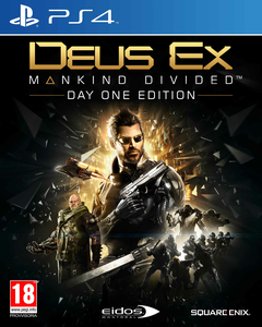 Videogioco Deus Ex: Mankind Divided Day One Edition - PS4 PlayStation4