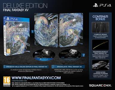 Final Fantasy XV Deluxe Edition - PS4 - 4
