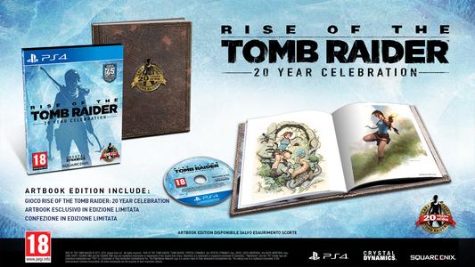Videogioco Rise of the Tomb Raider: 20 Year Celebration con Artbook - PC Personal Computer 3