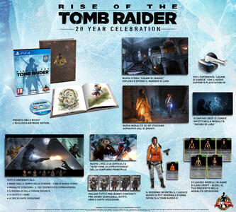 Rise of the Tomb Raider: 20 Year Celebration con Artbook - PC - 7