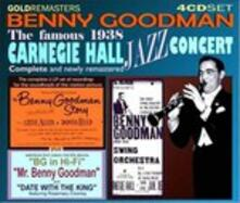 Complete 1938 Carnegie Hall Jazz Concert (Box Set Remastered) - CD Audio di Benny Goodman