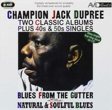 Two Classic Albums Plus - CD Audio di Champion Jack Dupree