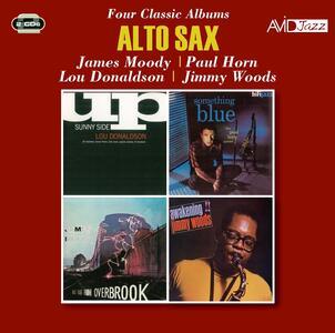 CD Alto Sax. Four Classic Albums