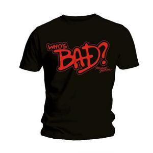 T-Shirt Michael Jackson Men's Tee: Whos Bad