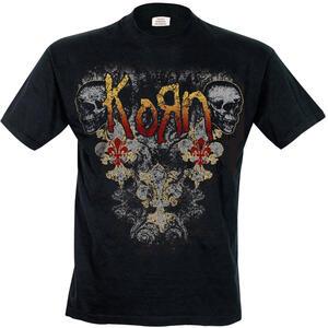 T-Shirt uomo Korn. Skulldelis