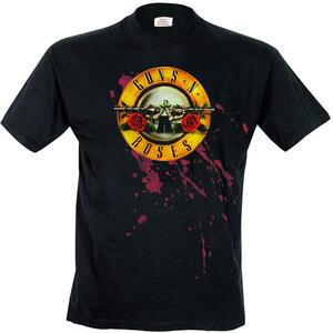 T-Shirt uomo Guns N Roses. Bullet