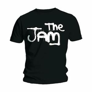 T-Shirt Jam Men's Tee: Spray Logo Black