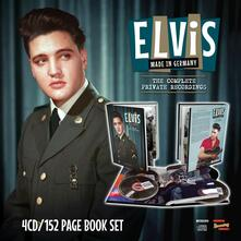 Made in Germany. The Complete Private Recordings (+ Libro) - CD Audio di Elvis Presley