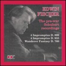 Schubert Recordings - CD Audio di Franz Schubert,Edwin Fischer