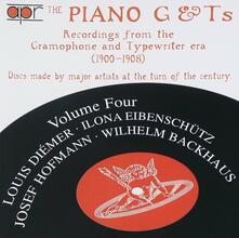 Piano G & T's vol.4 - CD Audio