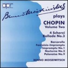 Scherzi - Ballate - CD Audio di Fryderyk Franciszek Chopin,Benno Moisejwitsch