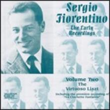 Fiorentino esegue Liszt vol.2 - CD Audio di Franz Liszt,Sergio Fiorentino