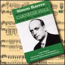 Dal Carnegie Hall vol.3 - CD Audio di Simon Barere