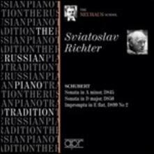 The Russian Piano Tradition vol.10 - CD Audio di Sviatoslav Richter
