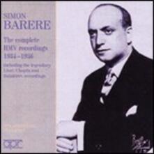 Integrale delle incisioni HMV - CD Audio di Simon Barere