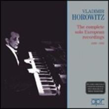 Registrazioni complete 1930-1936 - CD Audio di Vladimir Horowitz