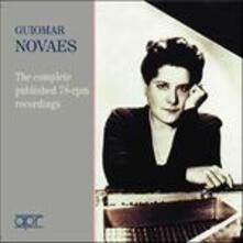 The Complete 78rpm Recordings - CD Audio di Guiomar Novaes