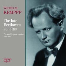 Die Spaeten Sonaten - CD Audio di Ludwig van Beethoven