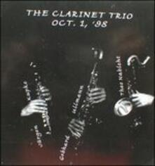 Clarinet Trio 1998 - CD Audio di Gebhard Ullmann