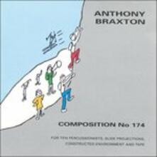 Composition n.174 - CD Audio di Anthony Braxton