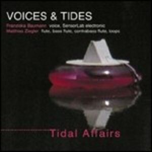 Foto Cover di Tidal Affairs, CD di Voices & Tides, prodotto da Leo Records