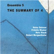 The Summary of 4 - CD Audio di Ensemble 5