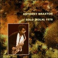 Solo 1978 - CD Audio di Anthony Braxton