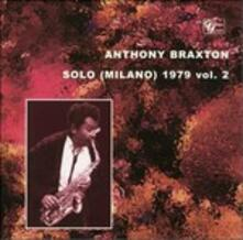 Solo 1979 vol.2 - CD Audio di Anthony Braxton